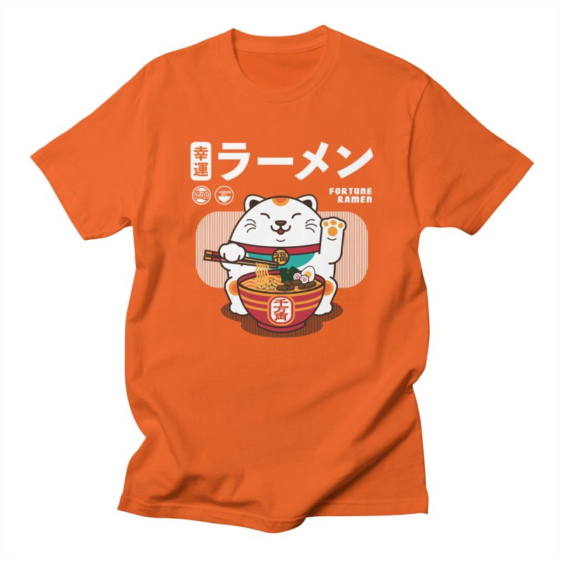 Fortune Ramen Men's T-Shirt by Steven Toang