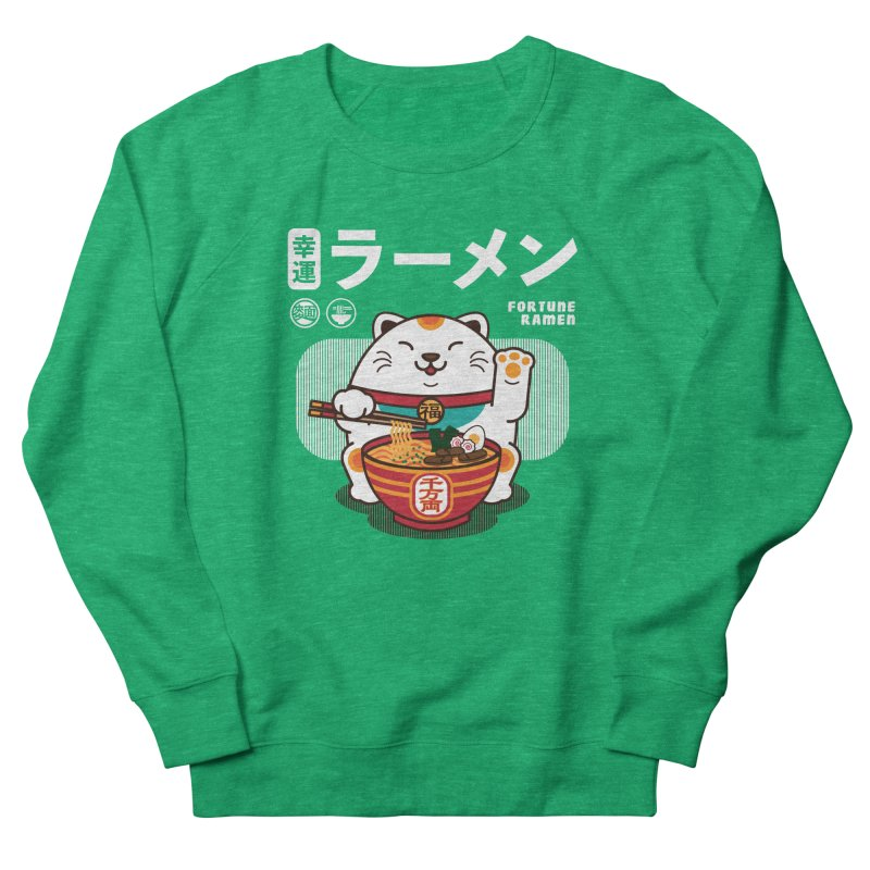 Fortune Ramen Women's Sweatshirt by Steven Toang