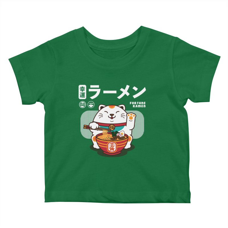 Fortune Ramen Kids Baby T-Shirt by Steven Toang