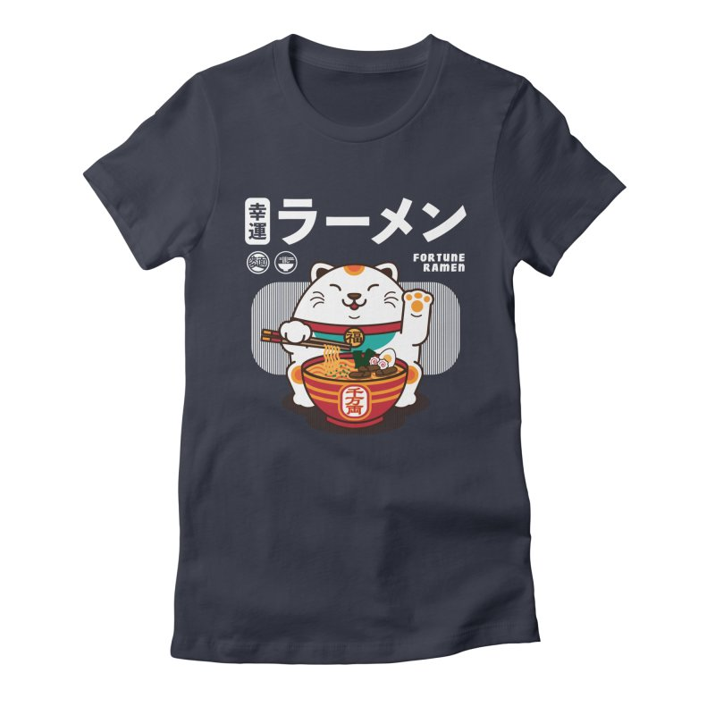 Fortune Ramen Women's T-Shirt by Steven Toang