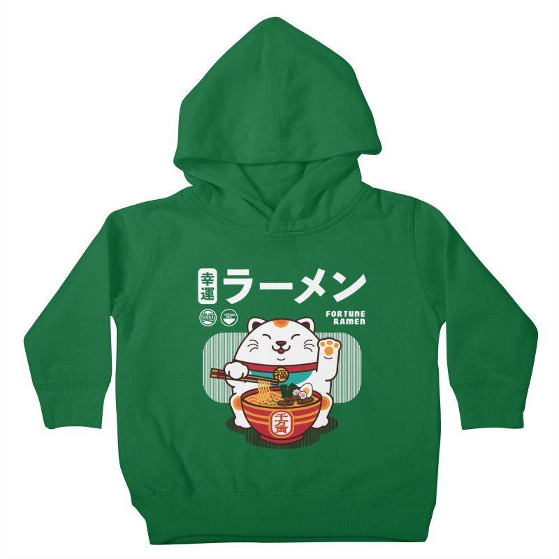 Fortune Ramen Kids Toddler Pullover Hoody by Steven Toang