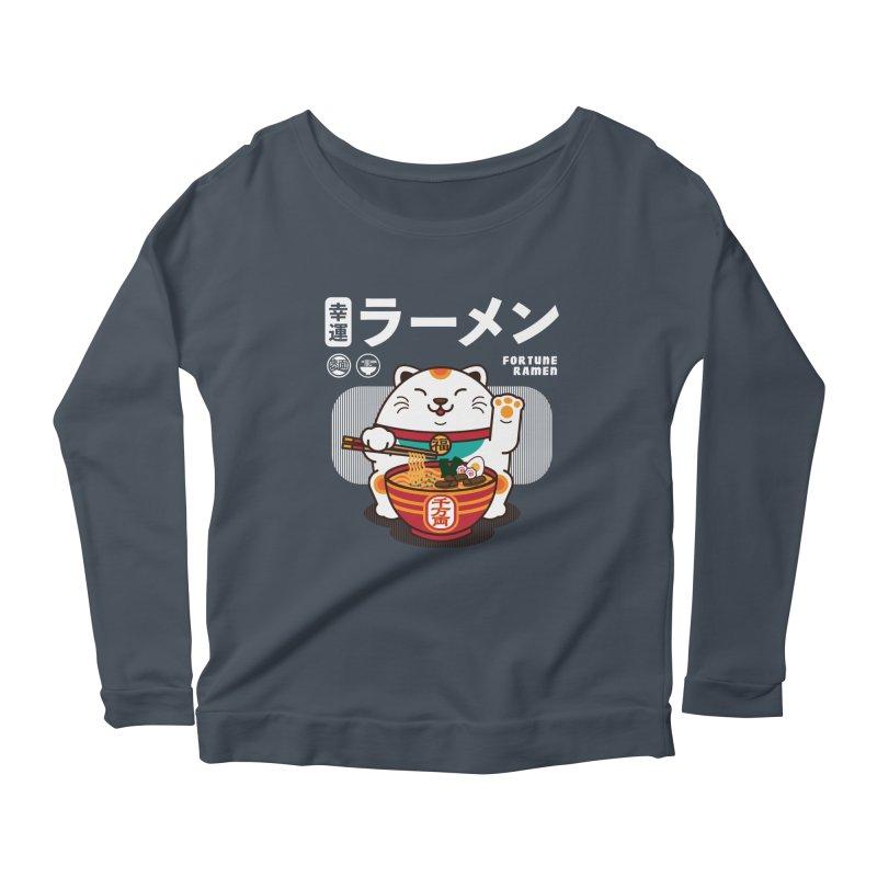 Fortune Ramen Women's Longsleeve T-Shirt by Steven Toang