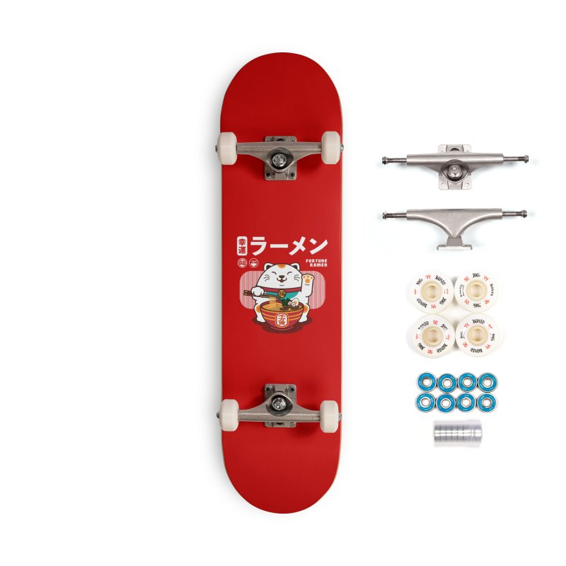 Fortune Ramen Accessories Complete - Premium Skateboard by Steven Toang
