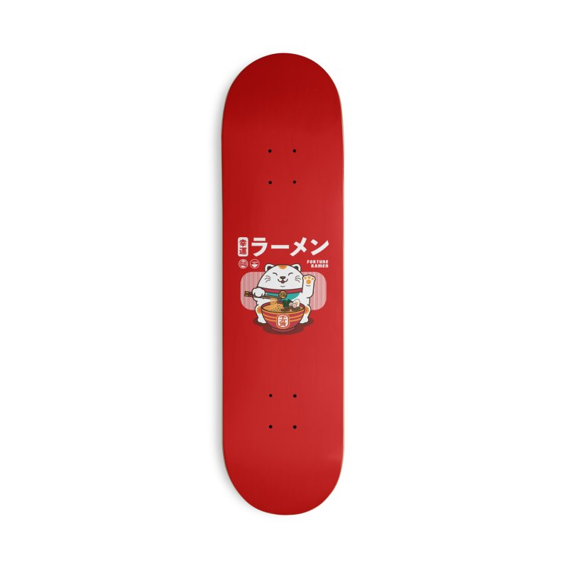 Fortune Ramen Accessories Deck Only Skateboard by Steven Toang