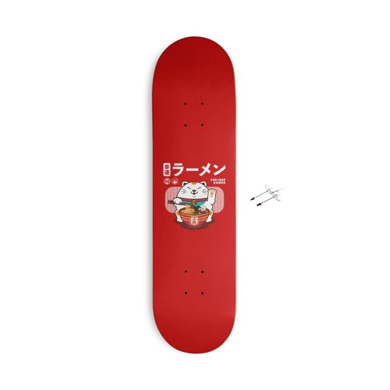 Fortune Ramen Accessories Skateboard by Steven Toang