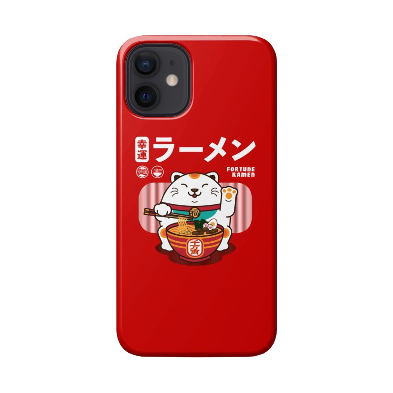 Fortune Ramen Accessories Phone Case by Steven Toang