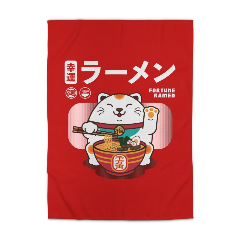 Fortune Ramen Home Rug by Steven Toang