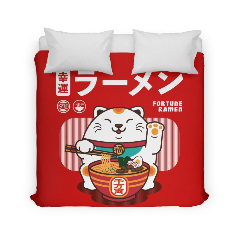 Fortune Ramen Home Duvet by Steven Toang