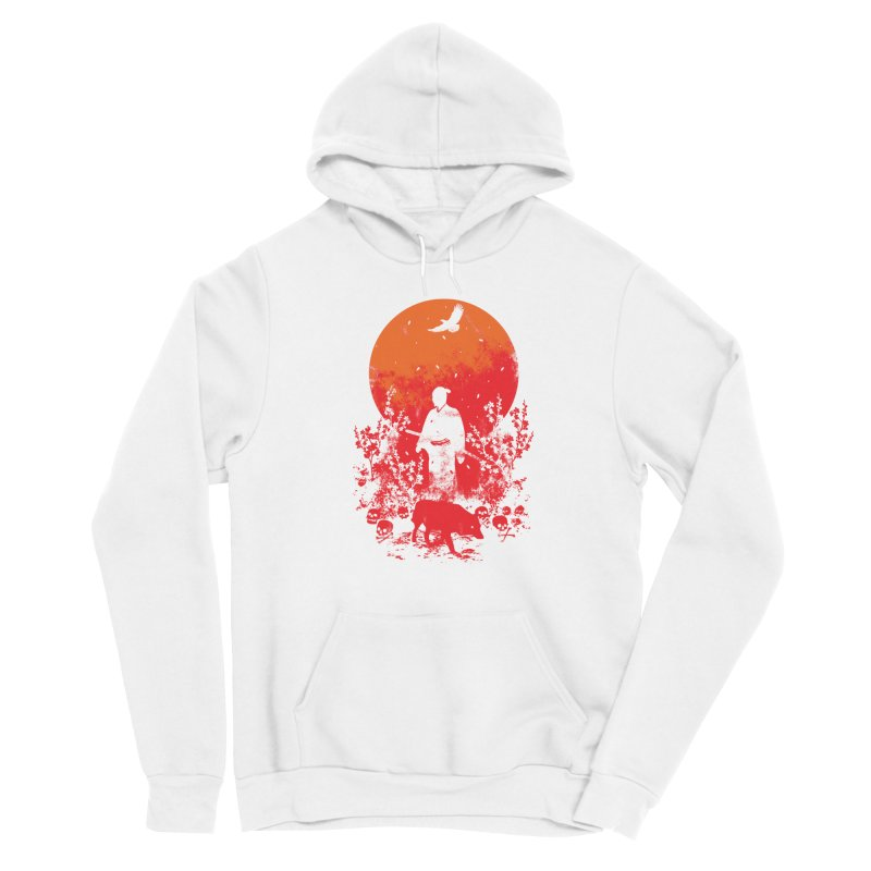Red Sun Women's Pullover Hoody by Steven Toang