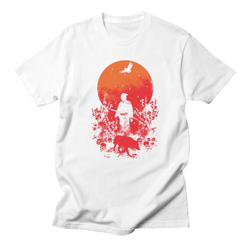 Red Sun Women's T-Shirt by Steven Toang