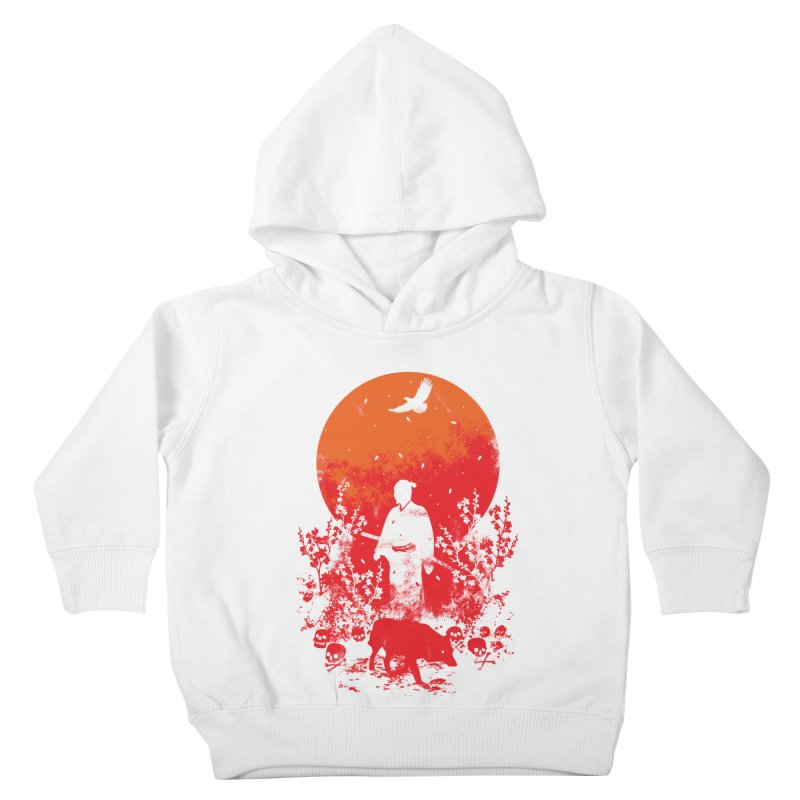 Red Sun Kids Toddler Pullover Hoody by Steven Toang