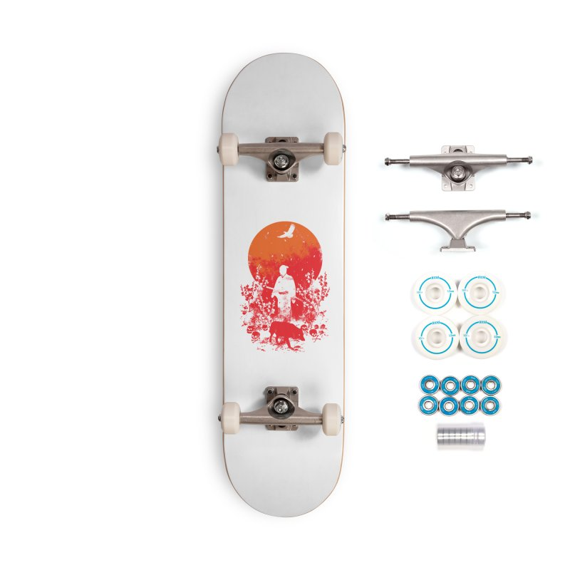 Red Sun Accessories Skateboard by Steven Toang