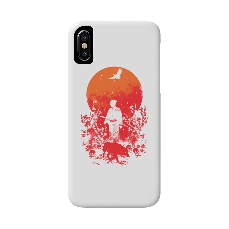 Red Sun Accessories Phone Case by Steven Toang