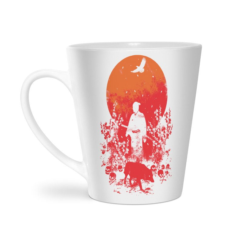 Red Sun Accessories Mug by Steven Toang