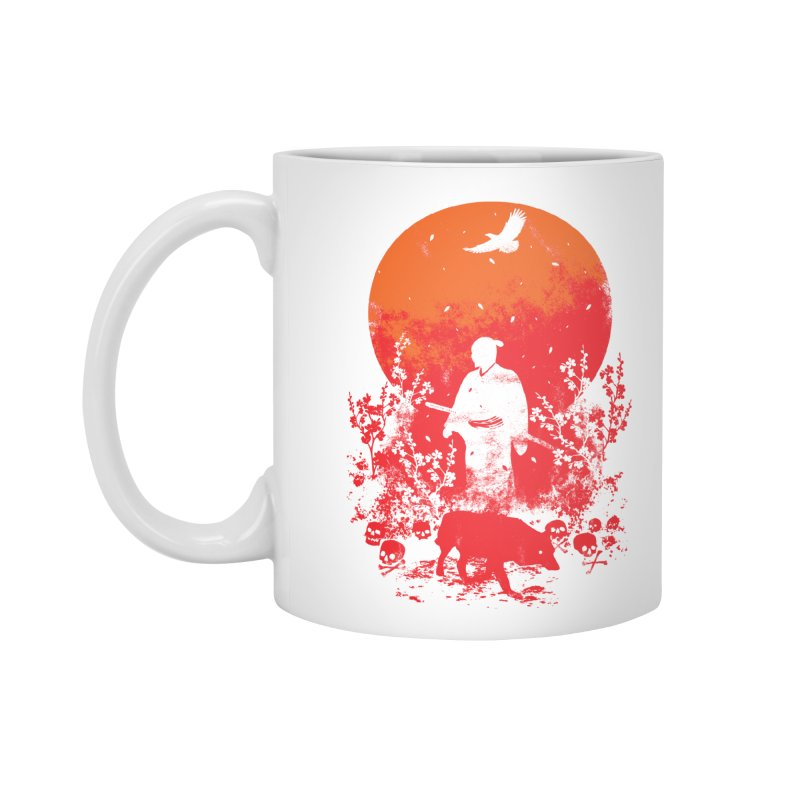 Red Sun Accessories Standard Mug by Steven Toang