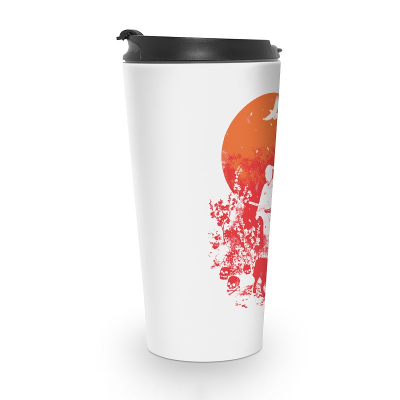 Red Sun Accessories Travel Mug by Steven Toang
