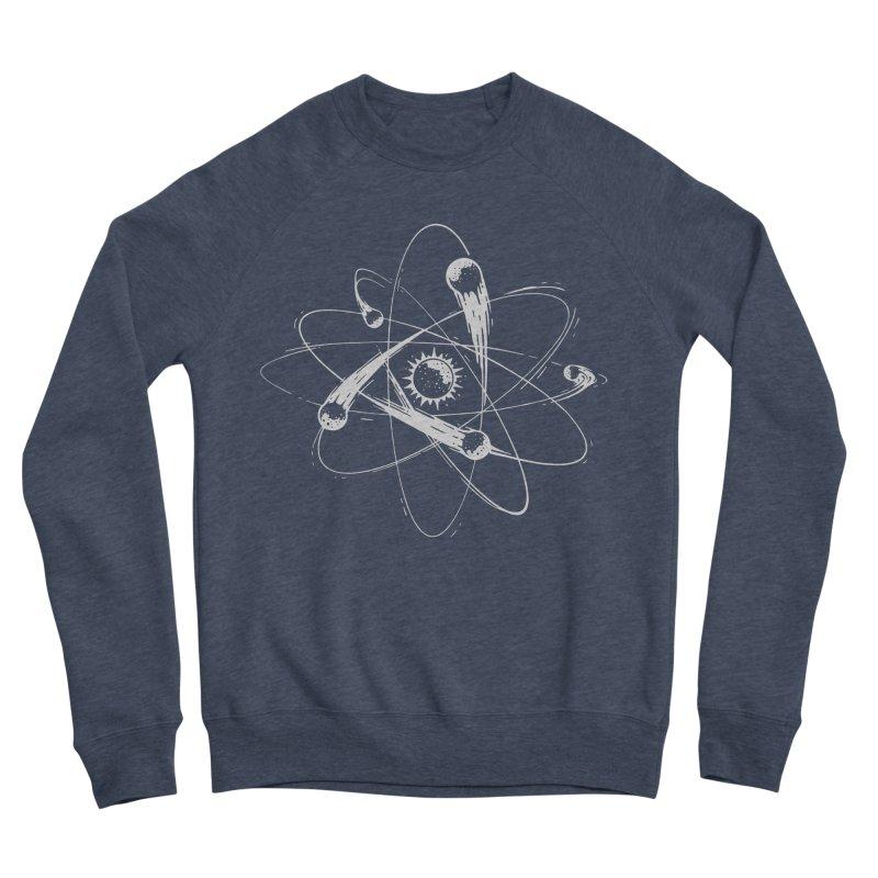 Atomic Meteors Men's Sponge Fleece Sweatshirt by Steven Toang