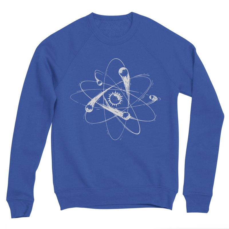 Atomic Meteors Men's Sponge Fleece Sweatshirt by Steven Toang