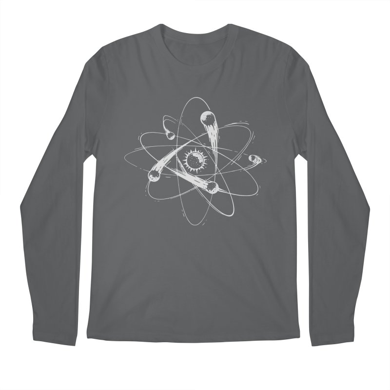 Atomic Meteors Men's Longsleeve T-Shirt by Steven Toang