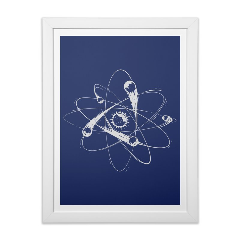 Atomic Meteors Home Framed Fine Art Print by Steven Toang