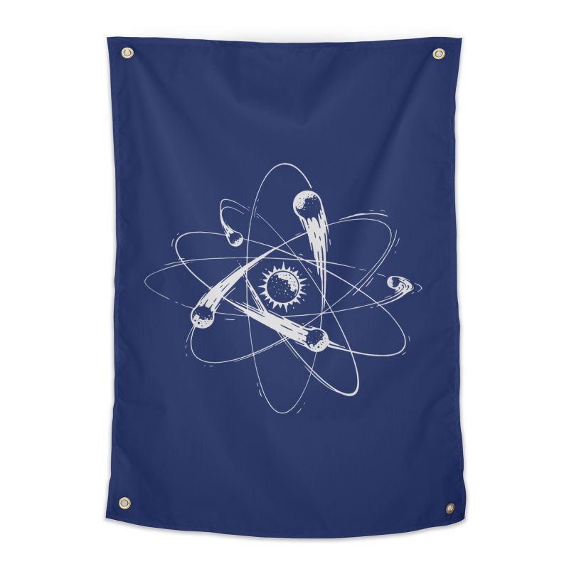 Atomic Meteors Home Tapestry by Steven Toang