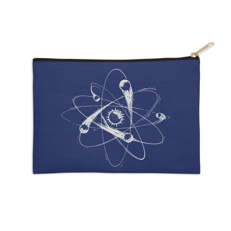 Atomic Meteors Accessories Zip Pouch by Steven Toang