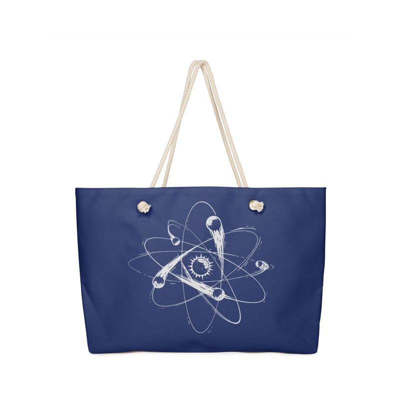 Atomic Meteors Accessories Weekender Bag Bag by Steven Toang