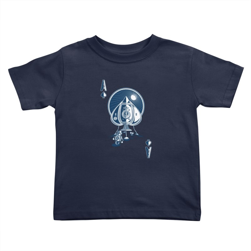 Ace of Spaces Kids Toddler T-Shirt by Steven Toang