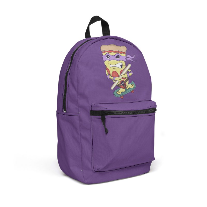 Pizza Donny Accessories Backpack Bag by SteveOramA