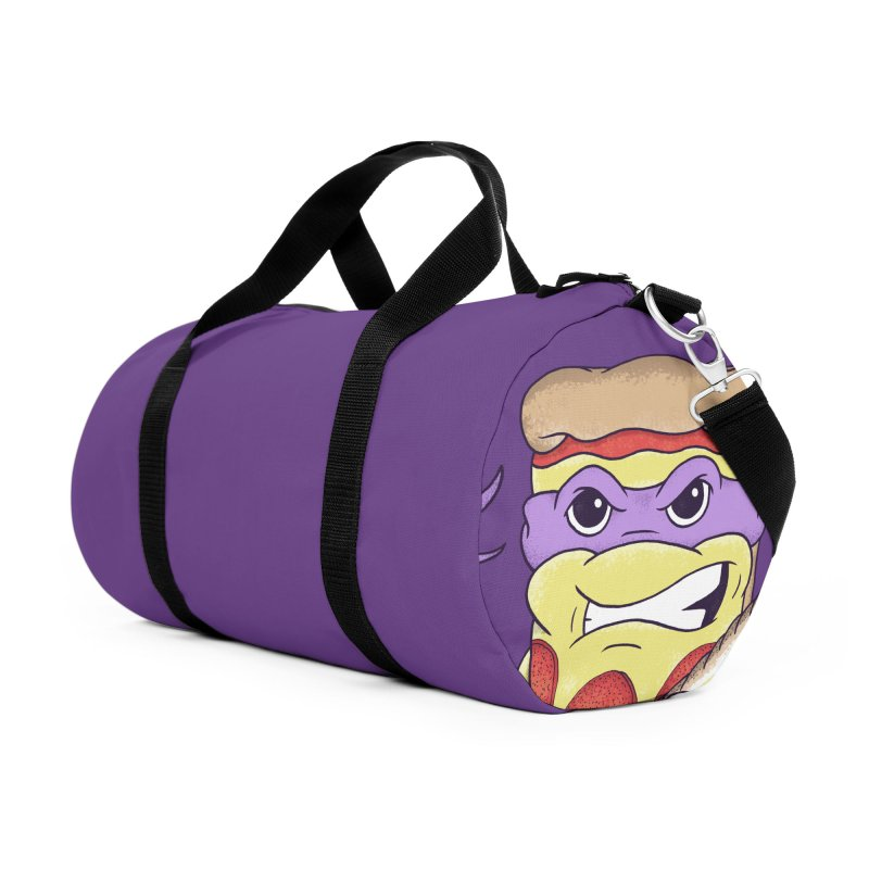Pizza Donny Accessories Duffel Bag Bag by SteveOramA