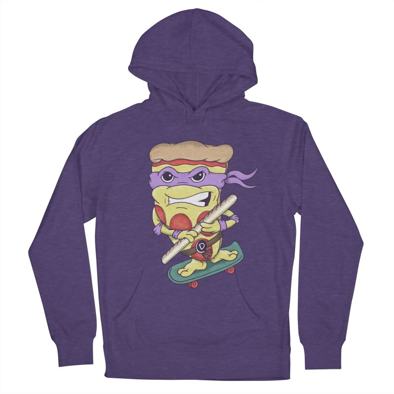 Pizza Donny Women's French Terry Pullover Hoody by SteveOramA