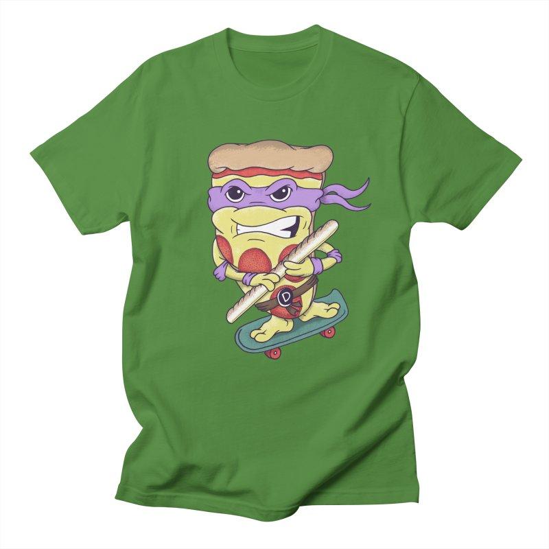 Pizza Donny Women's Regular Unisex T-Shirt by SteveOramA