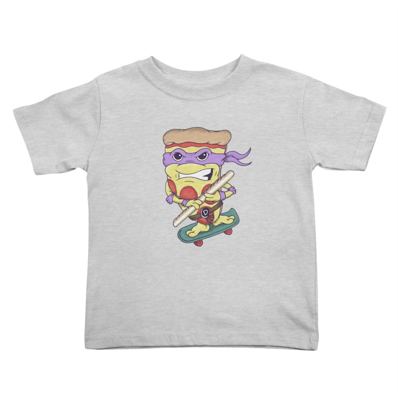 Pizza Donny Kids Toddler T-Shirt by SteveOramA