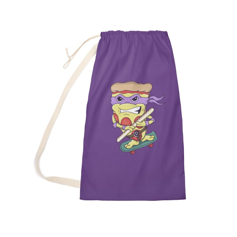Pizza Donny Accessories Laundry Bag Bag by SteveOramA