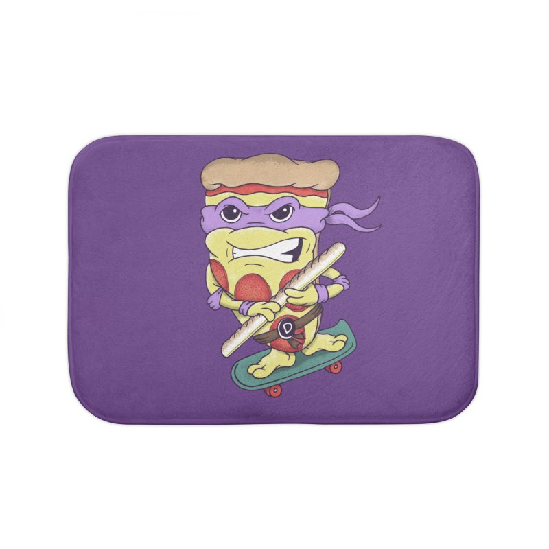 Pizza Donny Home Bath Mat by SteveOramA