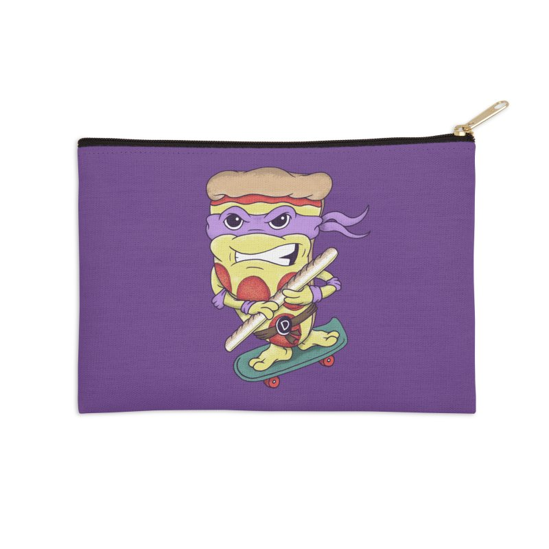 Pizza Donny Accessories Zip Pouch by SteveOramA
