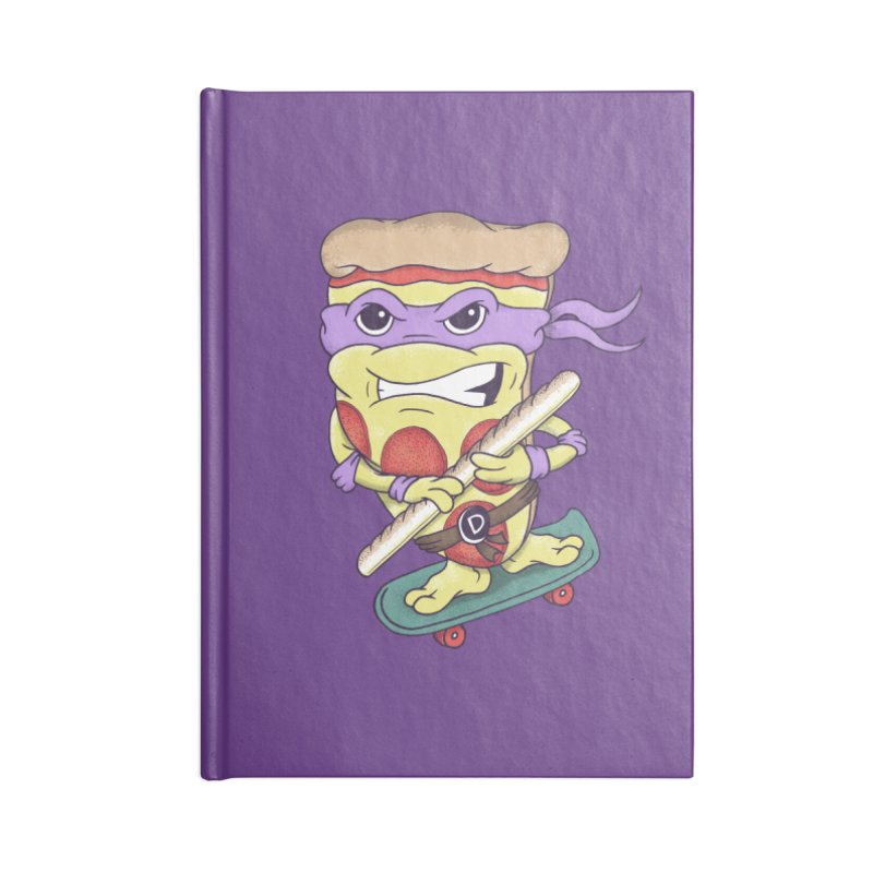 Pizza Donny Accessories Blank Journal Notebook by SteveOramA