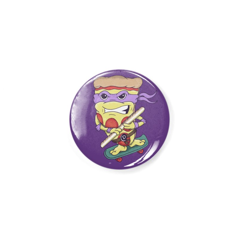 Pizza Donny Accessories Button by SteveOramA