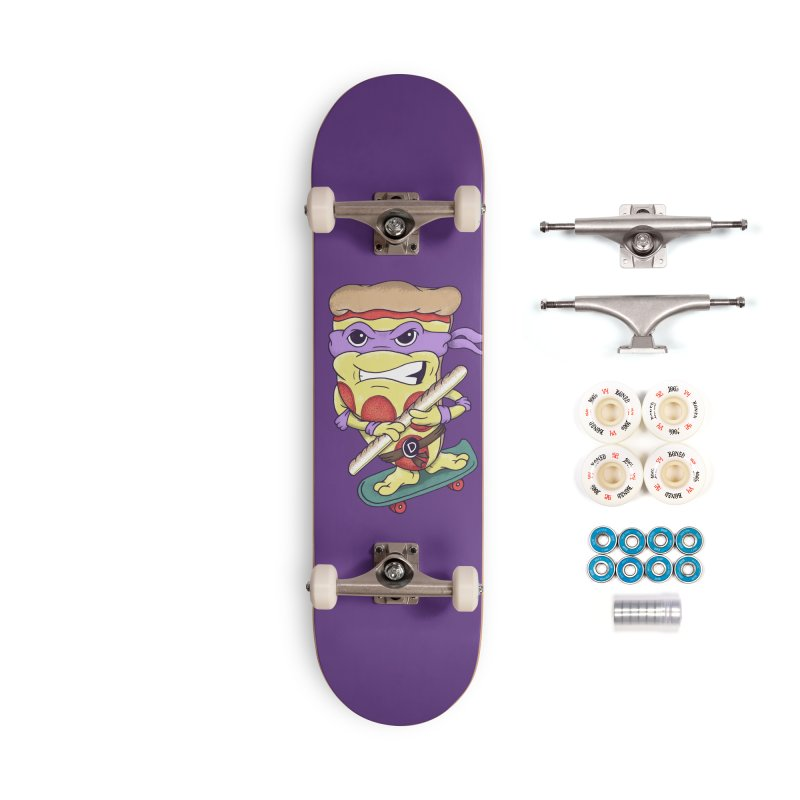 Pizza Donny Accessories Complete - Premium Skateboard by SteveOramA