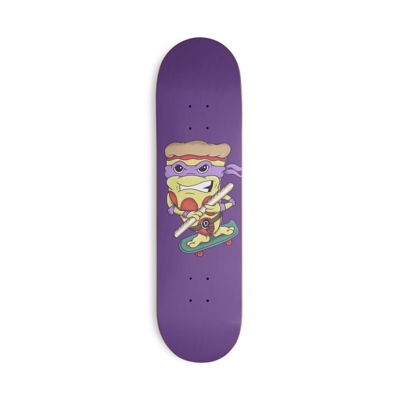 Pizza Donny Accessories Deck Only Skateboard by SteveOramA