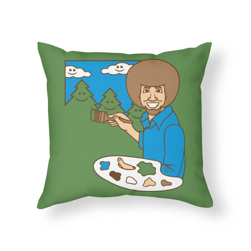 ThEarlYears Home Throw Pillow by SteveOramA