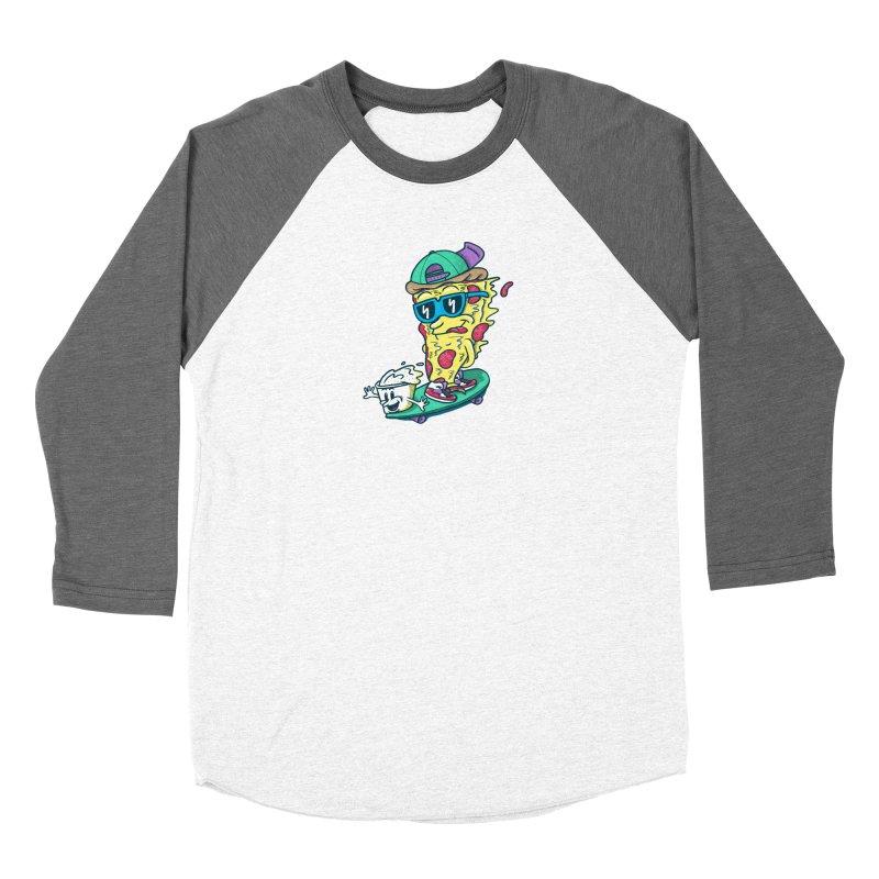 Pizza and Ranch Women's Baseball Triblend Longsleeve T-Shirt by SteveOramA