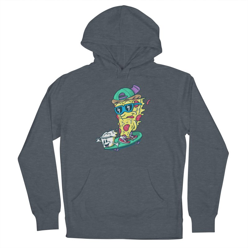 Pizza and Ranch Men's French Terry Pullover Hoody by SteveOramA
