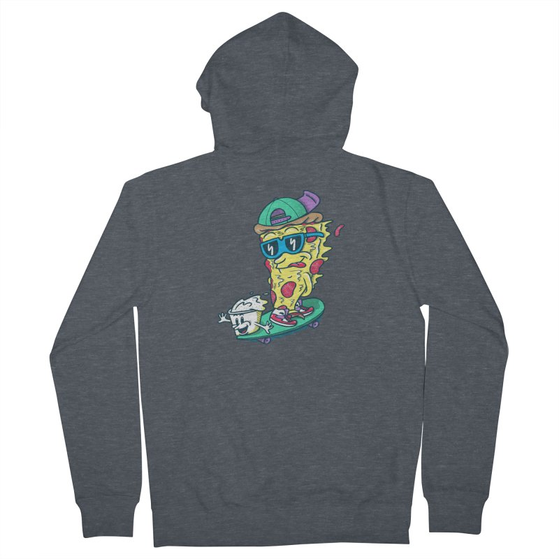 Pizza and Ranch Women's French Terry Zip-Up Hoody by SteveOramA