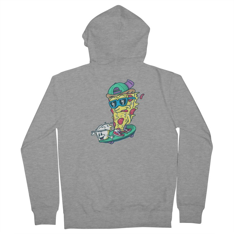 Pizza and Ranch Women's Zip-Up Hoody by SteveOramA