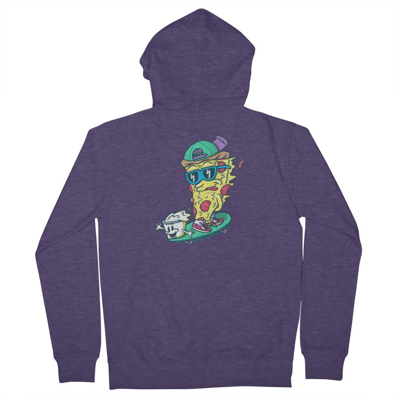 Pizza and Ranch Men's Zip-Up Hoody by SteveOramA