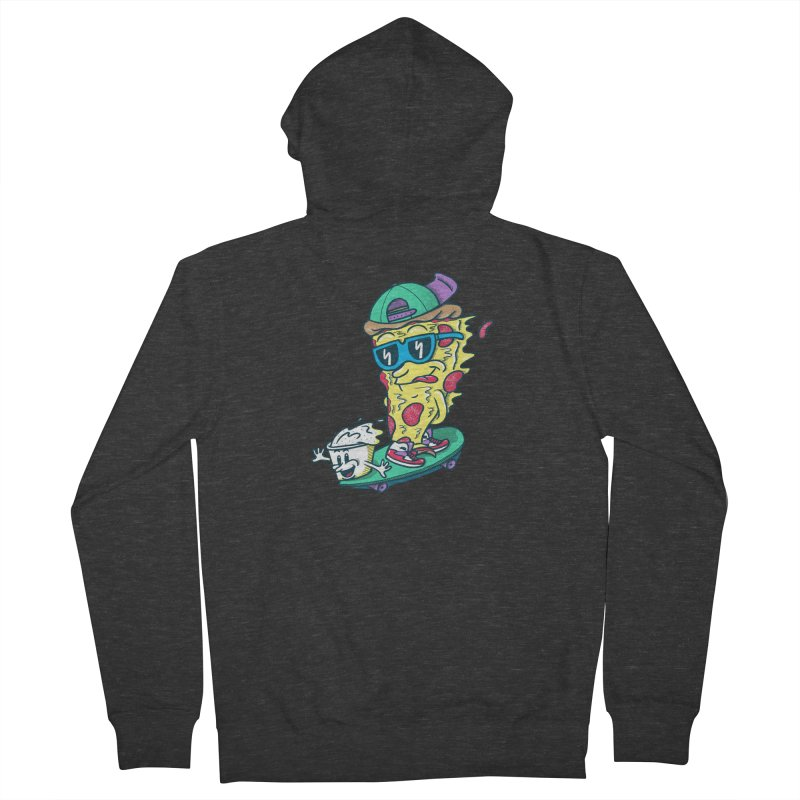Pizza and Ranch Men's French Terry Zip-Up Hoody by SteveOramA
