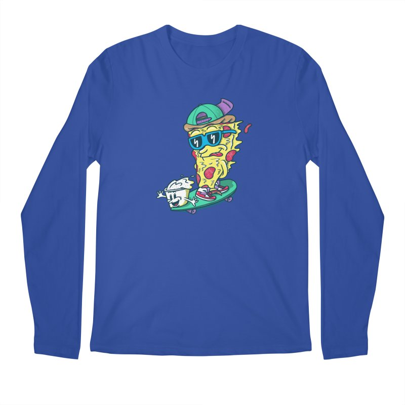 Pizza and Ranch Men's Regular Longsleeve T-Shirt by SteveOramA
