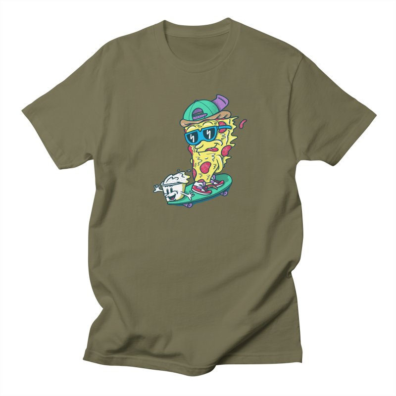 Pizza and Ranch Men's T-Shirt by SteveOramA