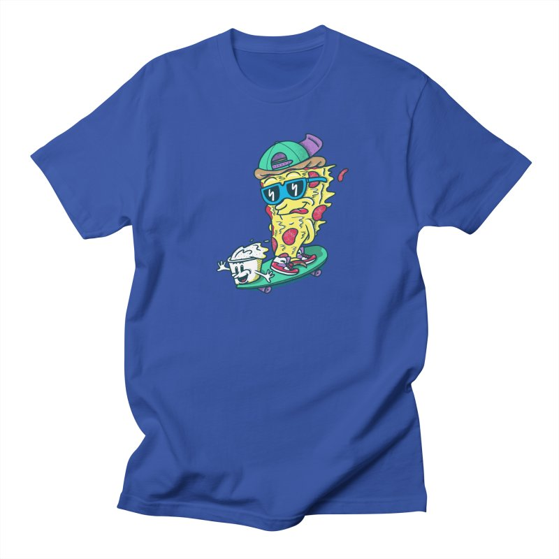 Pizza and Ranch Men's Regular T-Shirt by SteveOramA
